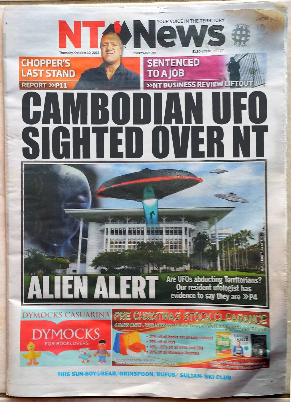 The Australian Cambodian Space Project (part 1)