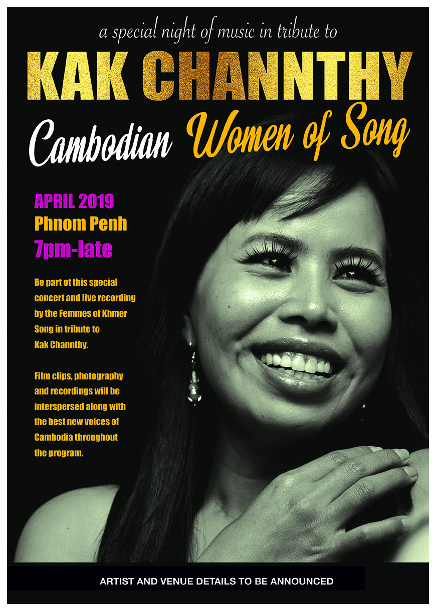 Cambodian Women of Song: A special concert tribute to Kak Channthy